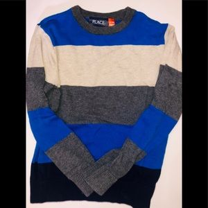 GUC STRIPPED LONG SLEEVE SWEATER CHILDREN'S PLACE